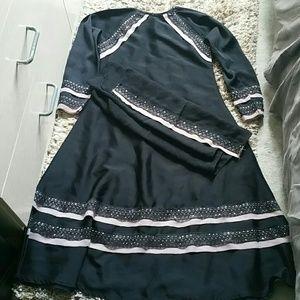 Other - PRICE DROP!GIRL'S BEAUTIFUL ABAYA DRESS WITH SCARF